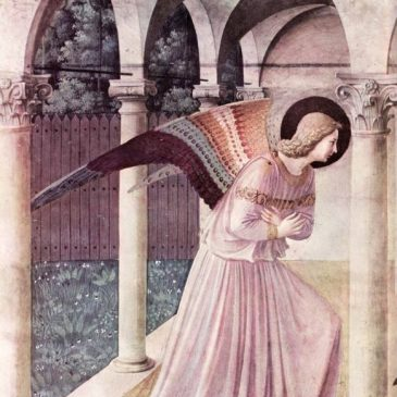 Annunciation Painting by Fra Angelico