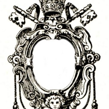Crown and Keys Frame