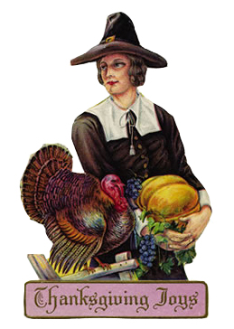 Free Vintage Clip Art Thanksgiving Joy