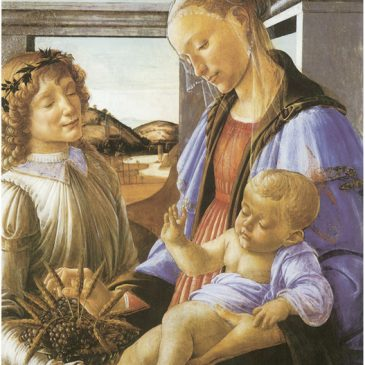 Madonna Botticelli Painting