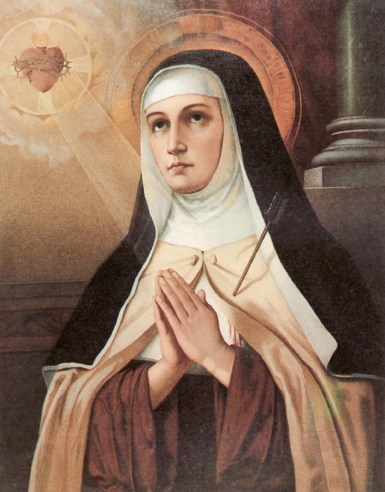 Saint Teresa of Avila Graphic