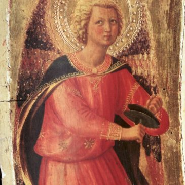 Angel with Cymbals – Italian Painting