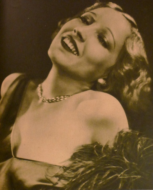 Bessie Love Old Hollywood Graphic circa 1929