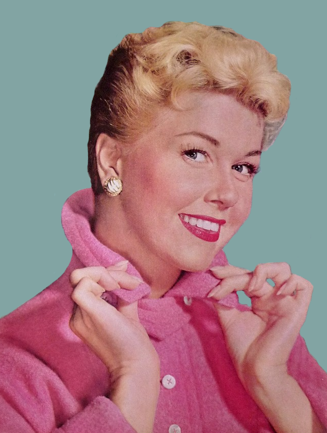 Old Hollywood Doris Day Graphic