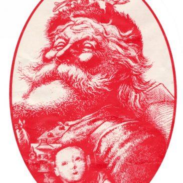 Classic Victorian Santa Graphic