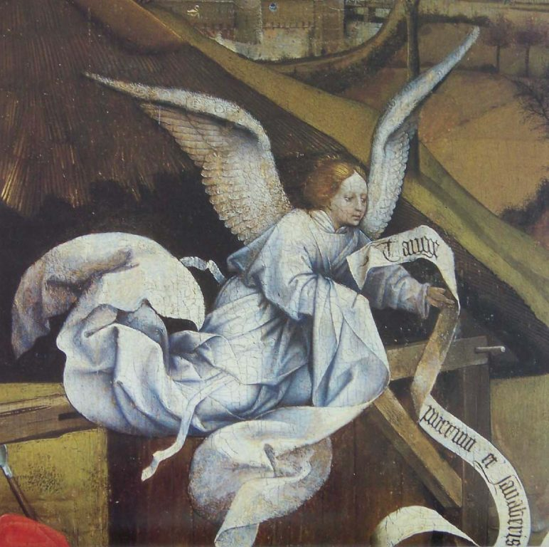 Angel Graphic from The Nativity