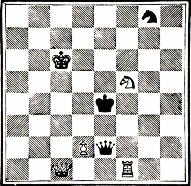 Alice in Wonderland Chess Board Graphic