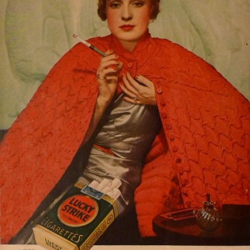 Lucky Strike Ad circa 1934