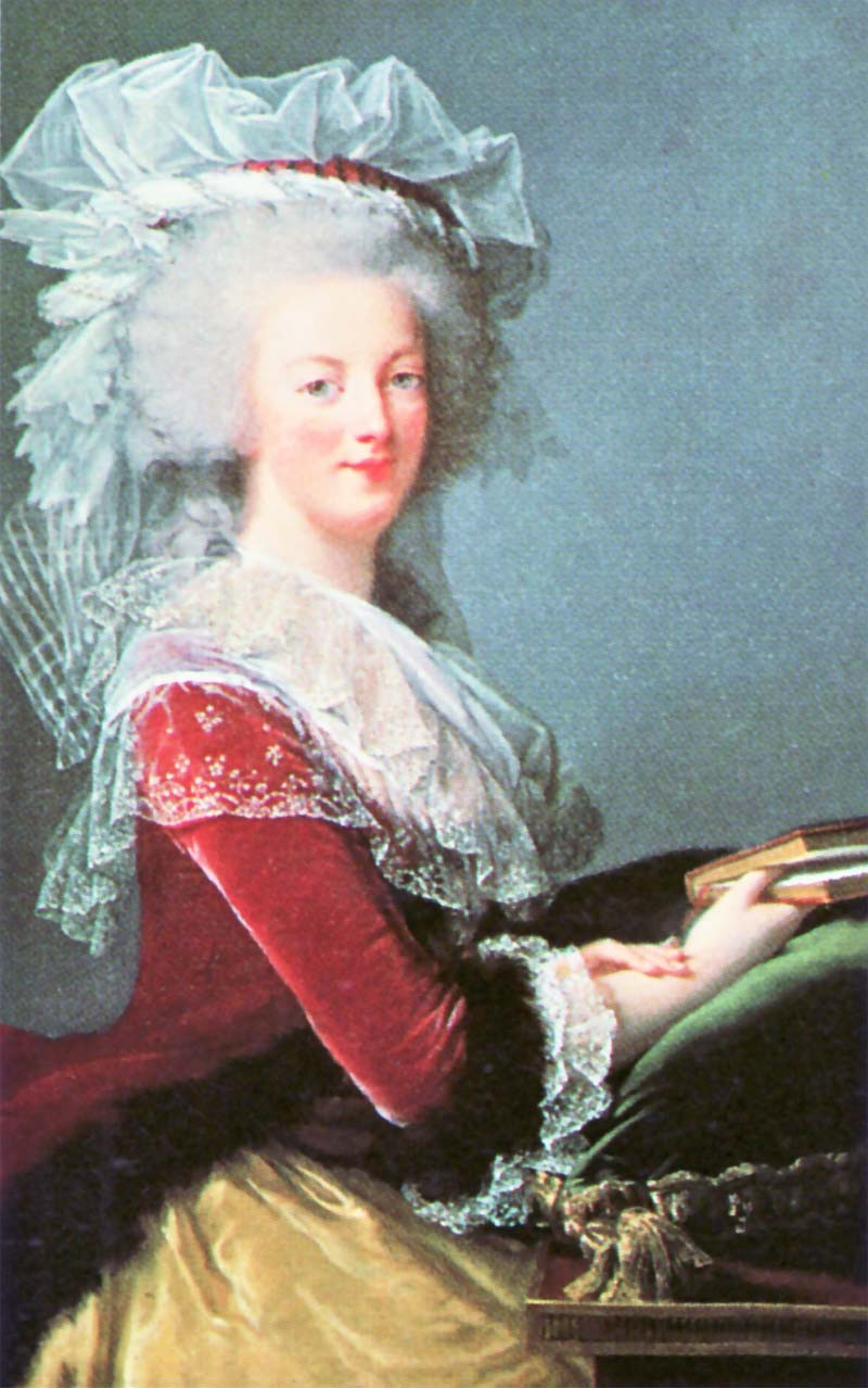 Marie Antoinette and Louis XVI Portraits