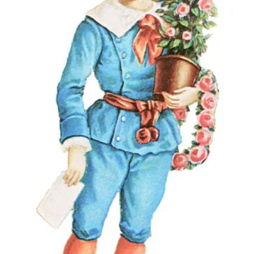 Victorian Scrap Boys Valentine's Day