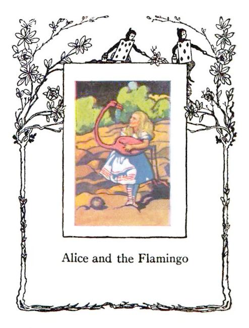 Alice in Wonderland Vintage Frame – Lucky Palm Graphics