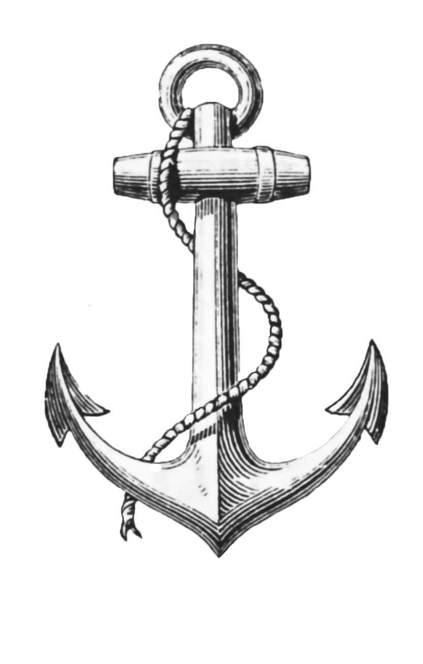 Anchor Graphic Clip ArtNavy Anchor Logo Outline