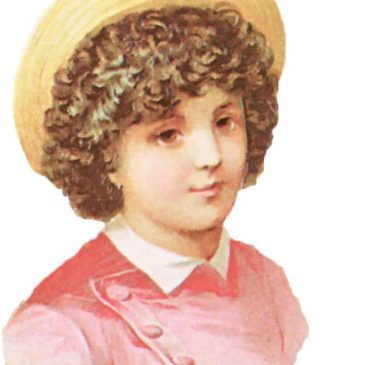 Victorian Scrap Kids Clip Art