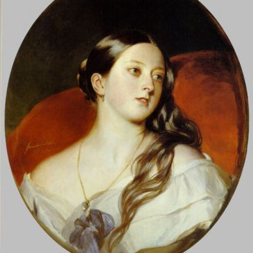 Queen Victoria Painting