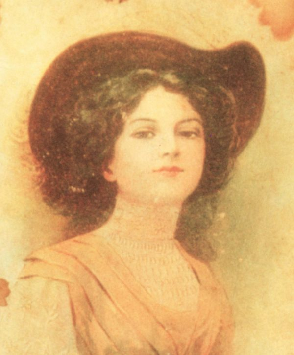 Victorian Mystery Women Portrait Graphics