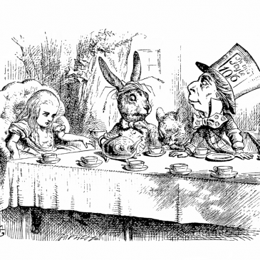 Alice in Wonderland Mad Hatter Graphic