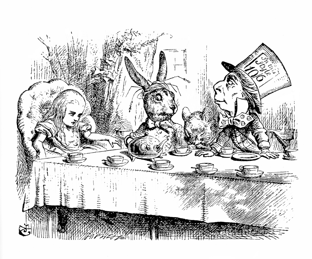 Free vintage images of mad hatter