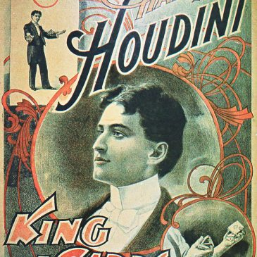 Houdini Poster Graphic