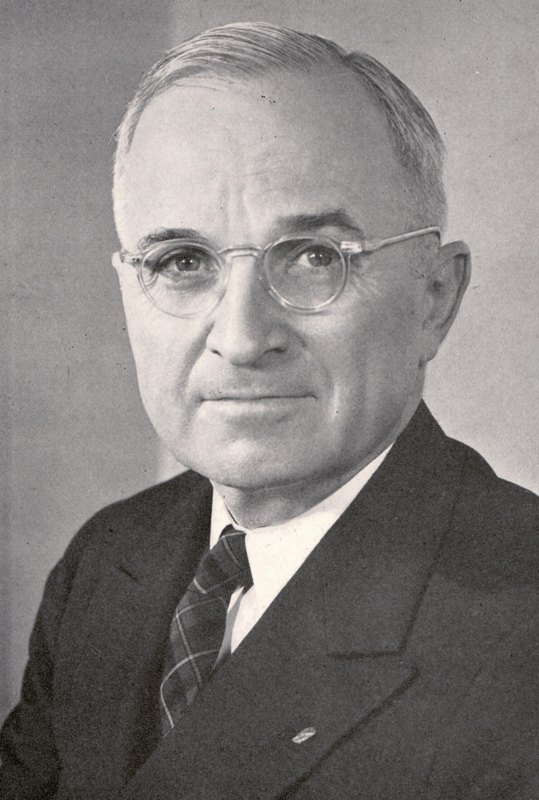 Harry Truman Photograph and Signature
