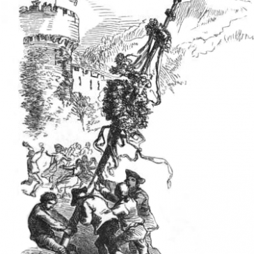 Vintage Maypole Graphic