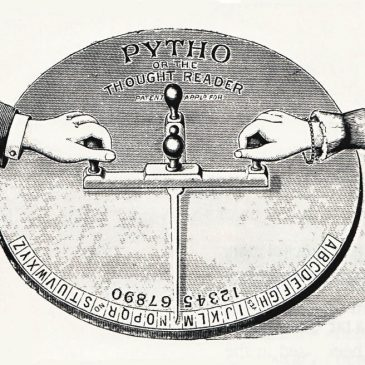 Vintage Thought Reader Ouija Board
