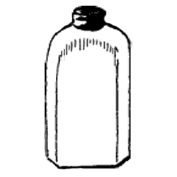 Vintage Bottle Jar Graphic